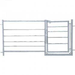 Pannello per ovini con cancello da 63 cm - h91 cm