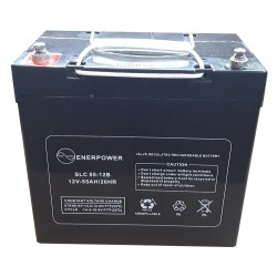 Batteria Ricaricabile AGM 12V-55 Ah