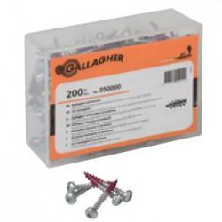 Viti per isolatori Galagher - 200 pezzi