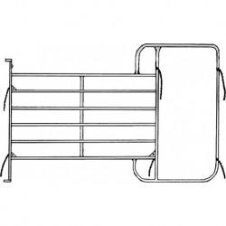 Pannello 6 con telaio corridoio - 3,05 x 2,10 m