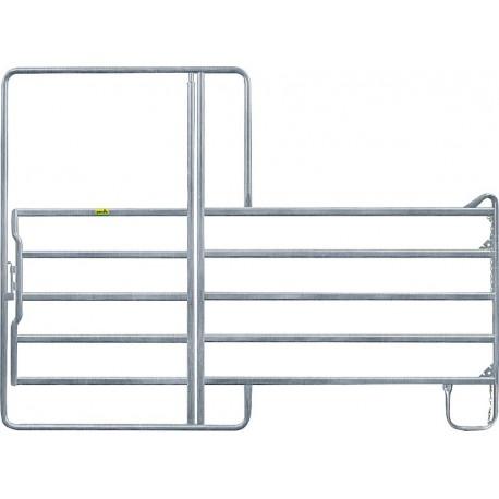 Pannello 5 con cancello da 110cm