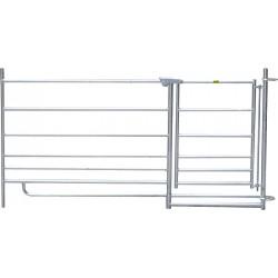 Pannello per ovini Steckfix con cancello da 60cm - h92 cm