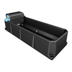 Abbeveratoio a vasca 75 o 120 litri con galleggiante
