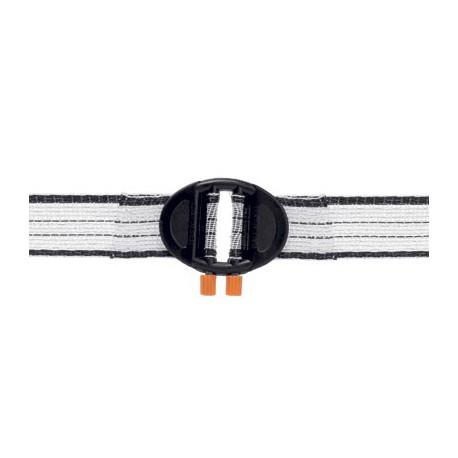 Connettore per fettuccia da 20 mm - 5 pezzi