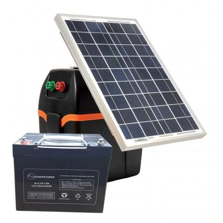 Kit solare S220  (B200 + P.Solare 20W +Batteria 55Ah)