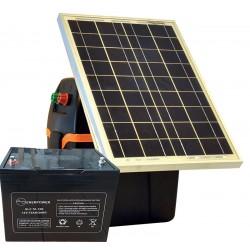 Kit Solare S230 (B200 + P.Solare 30W + Batteria 70Ah + Staffa)