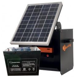 Kit Solare S180 + pannello solare 20W + batteria 55Ah
