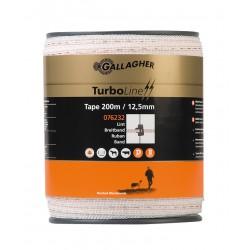 Fettuccia Turbo Bianca 12,5 mm